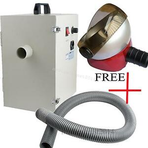 Dental Dust Collector Vacuum Cleaner Collecting Dust Device W Free Suction Base