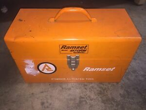 Ramset Model 4170rm W box Extras Rammaster Ram Master Powder Actuated Tool