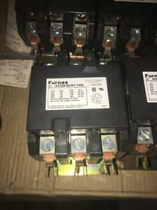 Siemens Furnas 3 Pole Phase Contactor 120v Coil 42ge35af106 Contacts New