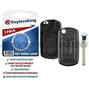 Remote Key Fob Entry Shell Case For Land Rover Range Lr3 Nt8 15k6014cff Txa