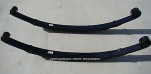Front Leaf Springs 99 04 Ford F250 F350 6 Lift 4x4 Excursion