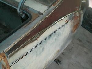 68 69 70 Amc Javelin Right 1 4 Panel Side Moulding Stainless Trim Oem Rare