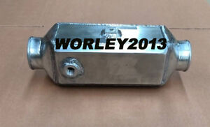 Universal Aluminum Intercooler Water To Air Front Mount 13 75 x4 75 x4 25