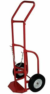 Milwaukee Hand Trucks 40763 Delivery Cylinder Truck 1 Gas Cylinder 500 Lb Loa