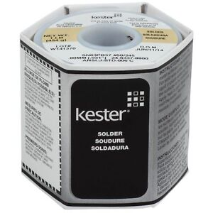 Kester 24 6337 8800 50 Activated Rosin Cored Wire Solder Roll 245 No clean 63