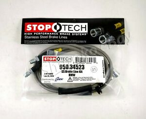 Stoptech Stainless Steel Braided Rear Brake Lines For 03 04 05 06 07 08 Bmw Z4