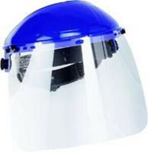 Firepower 8x12 Clear Face Shield Withratcheting Head Gear Fr1423 4175