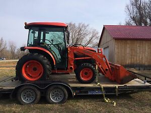 Kubota L3240 4wd Loader With 4 Attachments