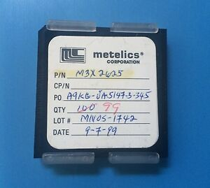 M3x2625 Metelics Capacitor Chip Rf Microwave 99 units Total