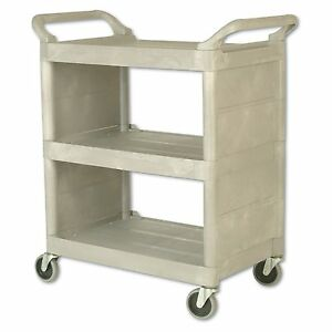 Rubbermaid Commercial Utility Cart 32 Width X 18 Depth X 37 1 2 Height