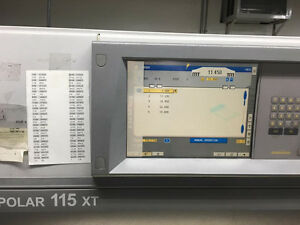 Heidelberg Polar 115xt Lcd Monitor Screen Repair Service
