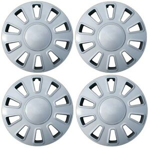 New 2006 2011 Ford Crown Vic Victoria 17 Hubcap Wheelcover Set Of 4 Silver