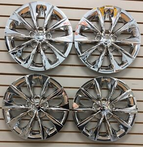 New 2015 2016 Toyota Camry 16 Hubcap Wheelcover Set Of 4 Chrome