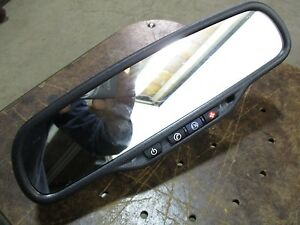 2006 06 Buick Lacrosse Rearview Mirror Compass Temperature Oem
