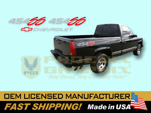 1992 1993 Chevrolet 1500 Truck 454 Ss Decals Stripes Kit