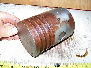Old 1 3 4hp Ihc Mogul Hit Miss Gas Engine Piston Steam Magneto Oiler Ignitor Wow