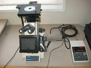 Buehler Versamet 3 Metallograph Microscope W Unitron Ae 2 Ccd Used As is