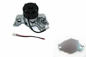 Ford Sb 289 302 351 Windsor 35 Gpm Electric Water Pump Chrome