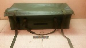 Nos Military Shipping Storage Container Radio Bag 10 5 x7 5 x27 5 100038 1