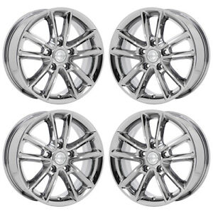 17 Dodge Grand Caravan Pvd Chrome Wheels Rims Factory Oem 2399 Set 4 Exchange