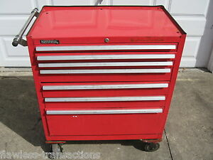 Rolling Tool Cabinet 7 Drawer 34 X 40 X 20 Kennedy Maintenance Pro