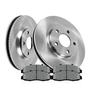 Front 278mm Quality Brake Disc Rotors And Metallic Pads Kit 2012 2013 Ford Focus
