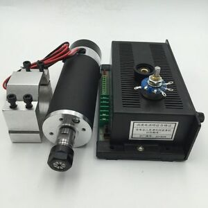 Dc Spindle Motor Air cooled 400 500 600w 12000rpm Cnc Router Engraver Machine