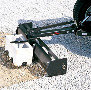 38 Tractor Heavy Duty Sleeve Hitch Tow Behind Rake Box Scraper Garden Projects