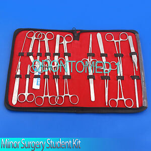 44 Pc Minor Surgery Student Kit Surgical Dental Forceps ds 686