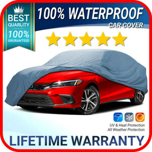 Honda Civic Car Cover All Weather 100 Waterproof Premium Customfit