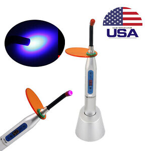Dental Wireless Cordless Led Cure Curing Light Lamp 2000mw Tool Resin Cure