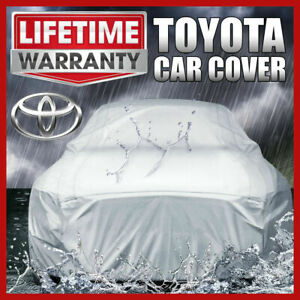 toyota Camry Car Cover Weather Waterproof Full Warranty custom fit