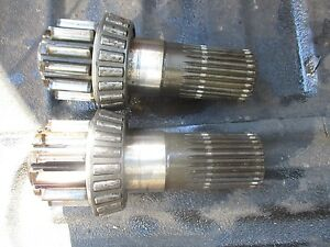 1955 Oliver Super 55 Gas Tractor Brake Pinion Shafts Ffree Shipping