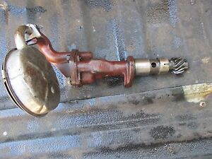 1955 Oliver Super 55 Gas Tractor Engine Oil Pump Free Ship 66 77 88 660 770 880