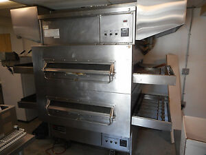 Middleby Marshall Double Deck Gas Conveyor Pizza Oven Ps 360 40 Decks A 1 Co