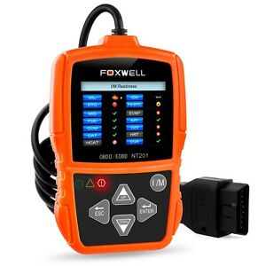 Obd Ii Auto Code Scanner Automotive Diagnostic Scan Tool Check Car Engi New