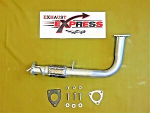 Front Flex Pipe For 1998 1999 2000 2001 2002 Honda Accord 2 3l Automatic Trans