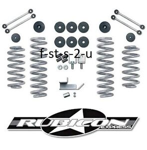 Rubicon Express Standard 3 5 Suspension Lift Kit 1997 2006 Jeep Wrangler Tj Lj