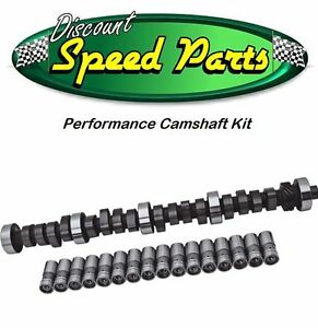Ford 289 302 351w Stage 1 Rv Performance Camshaft Kit Lifters