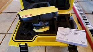 Leica Sprinter 150 Electronic Level new