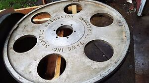Industrial Saw Aluminum 36 X 2 Width Bandsaw Wheel New a