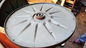 Carter 36 X 2 Width Bandsaw Wheel Tapered Bore e