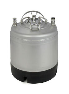 New Kegco 1 75 Gallon Home Brew Ball Lock Keg With Strap Handle