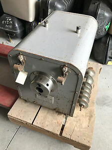2hp Hobart 4532 Meat Grinder Chopper 3ph Motor Only Untested Sold As is