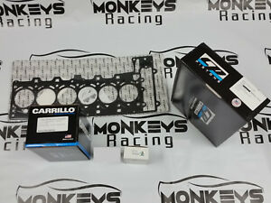 Cp Piston Carrillo Pro H Gasket Bearings Kit For Bmw N54b30 84mm Cr 10 2 1