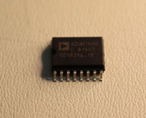 47x Analog Devices Adum1400crwz 4 Channel Digital Isolator 16 Pin Soic 3018396 1