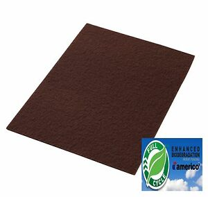Clarke Boost 997018 Maroon Ecoprep Floor Pads 14x28 Box Of 10 Aftermarket
