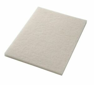 Clarke 997023 Focus Boost 14 X 20 White Polishing Floor Pad Box Of 5 Aftermarket