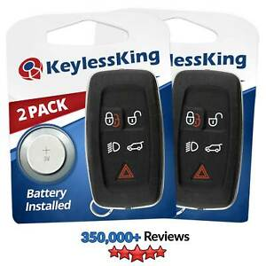 2x Replacement Remote Keyless Entry Key Smart Fob For Land Rover Range Rover
