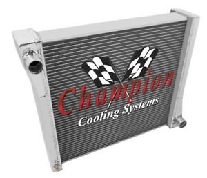 1941 Willys Cars Champion High Quality 3 Row Full Aluminum Radiator